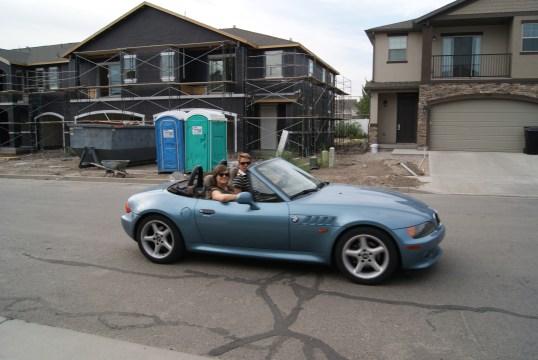 Even een ritje in een andere cabrio
