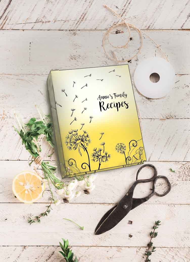 Kitchen Collection: Annie Recipe Album With Free Lemon Recipes Page