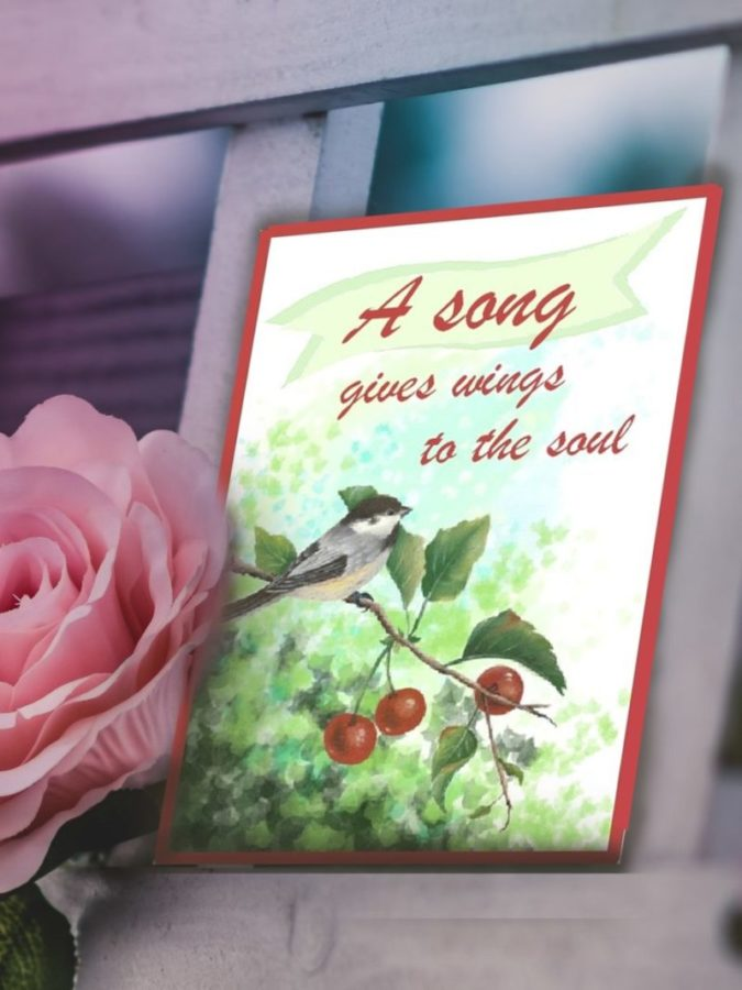 A Song Gives Wings to the Soul, No Flying Lessons Required