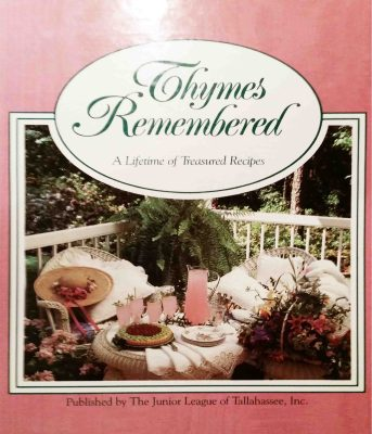 Thymes Remembered Cookbook cover image