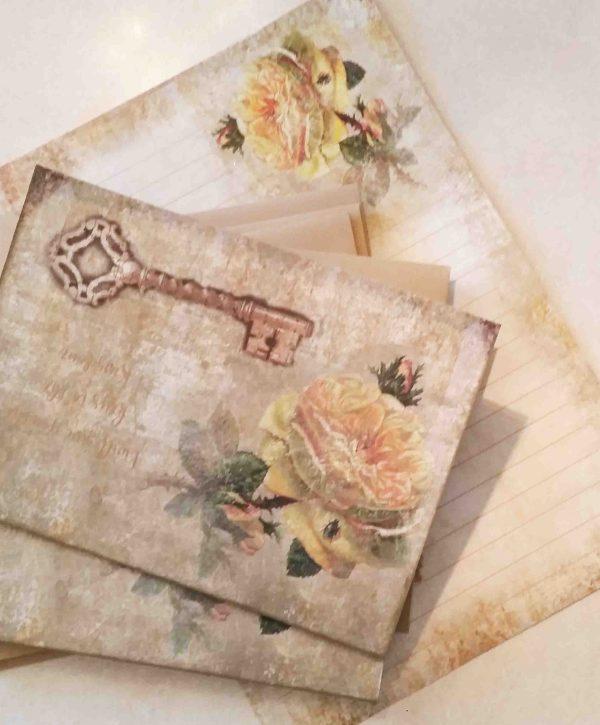 book-boxed cards, notepaper, envelopes