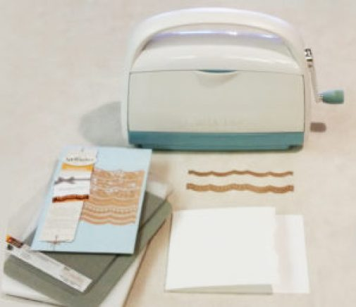 card tools for embossing and cutting scallop edge
