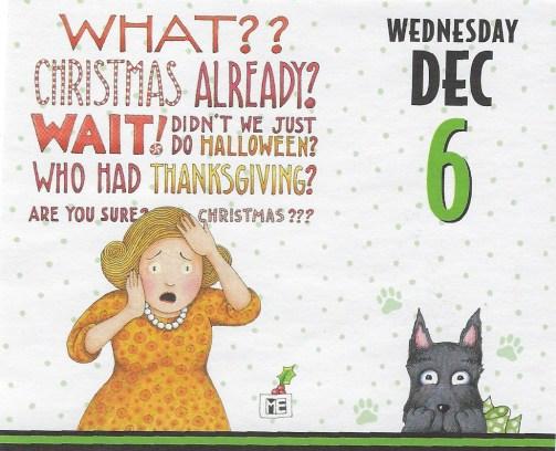 Mary Engelbreit calendar page