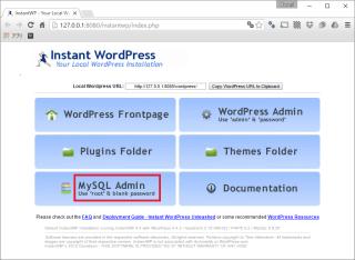 OneDrive内のInstant WordPressに複数のWordPressをインストールする