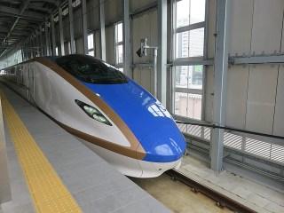 祝!北陸新幹線初乗車 帰省の回数が増えそうです