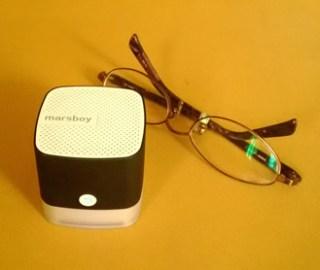 新しい相棒 「Marsboy」のキューブ型 Bluetooth スピーカー