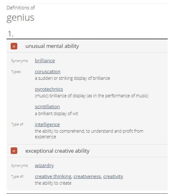 Genius - A Creative Wizardry