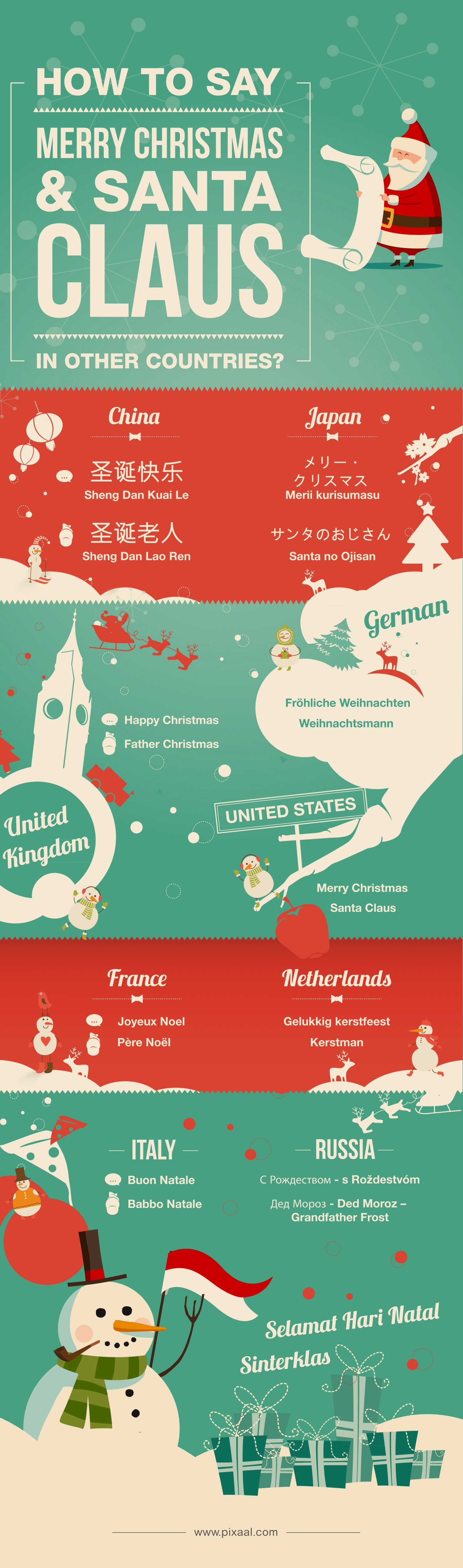 7 holiday infographics for