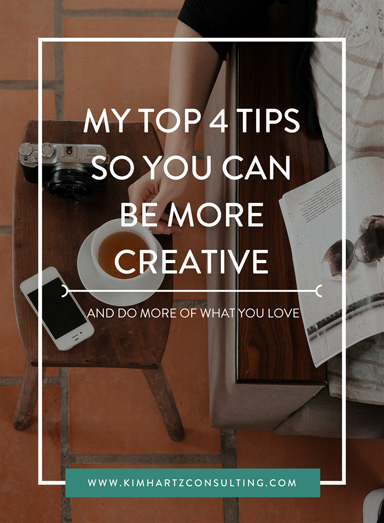 My Top 4 Photographer Business Tips so you can be more Creative!