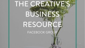 The creative business resource Facebook page
