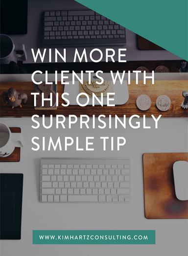 Win more clients with this one surprisingly simple tip ...