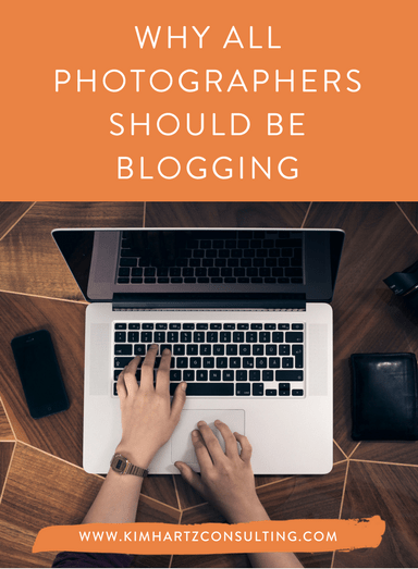 Why all photographers should be blogging