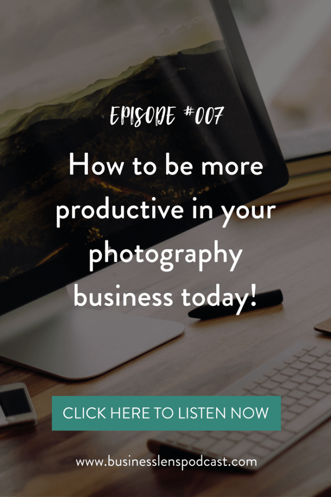 podcast, through the business lens, productivity