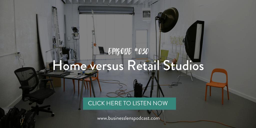 business tips, home studio, retail studio, photography studio