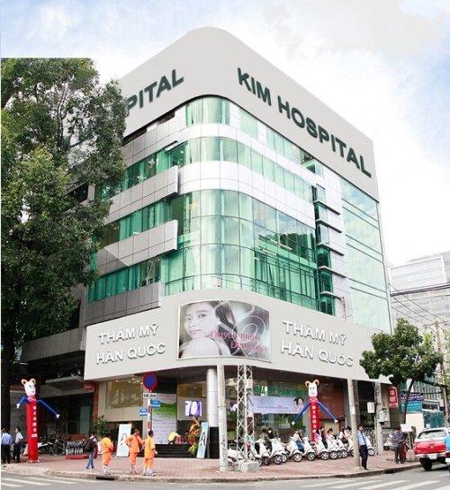 Thẩm mỹ Hàn Quốc Kim Hospital.