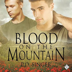 blood on mountain