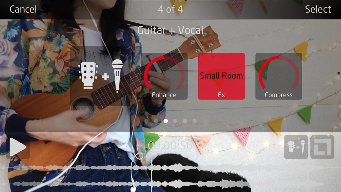 YouTubeやインスタで!弾き語り動画を作るカメラ&エフェクトのアプリ