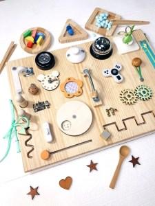 tabla sensorial rectangular montessori