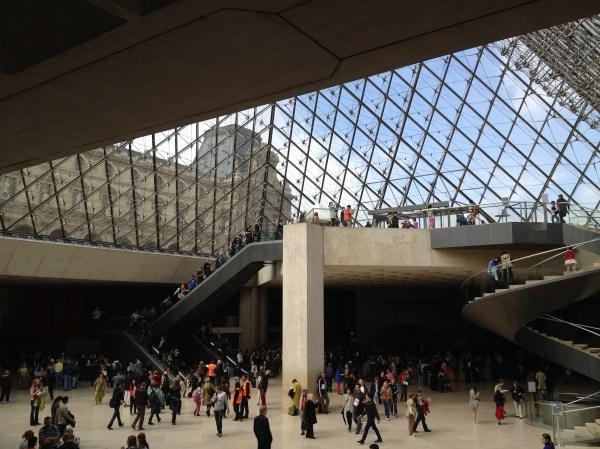 Inside Musee Du Louvre