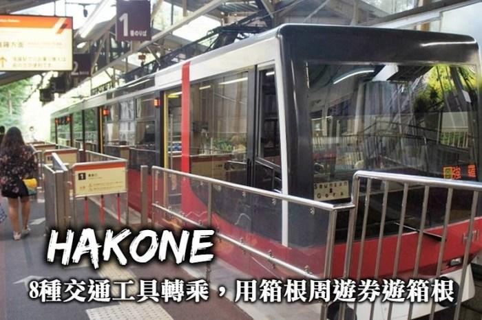 箱根交通-海賊船、纜車、電車、巴士轉乘,利用箱根周遊券規劃箱根一日遊!