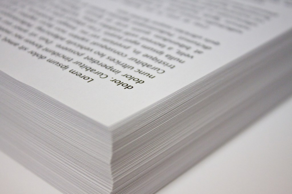 Stack of Copy Paper (Wikimedia Commons)