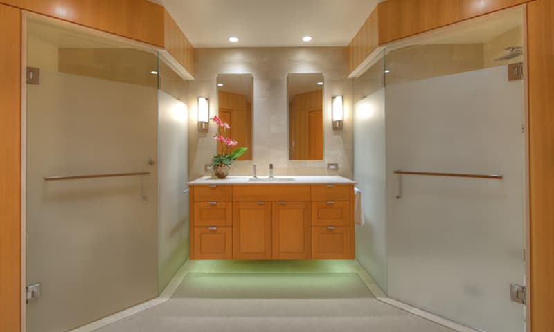 Eagle Harbor, master bath