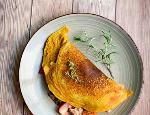Kikkererwten omelet