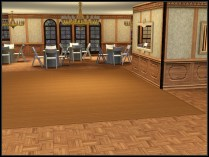 Event room for formal parties, such as the highschool prom.