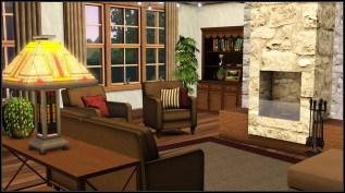 Livingroom (Luke has no tv ;) )