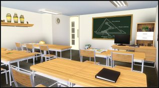 World Sciences ( geography, history) are taught in this room by Samantha Williams.