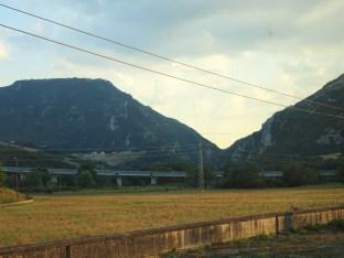 Trein Brindisi-Taronto