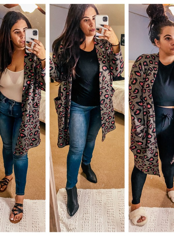 How to: Wear a Cardigan 3 Ways