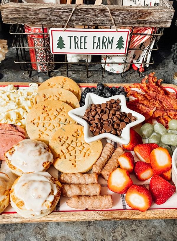 Christmas Breakfast Board