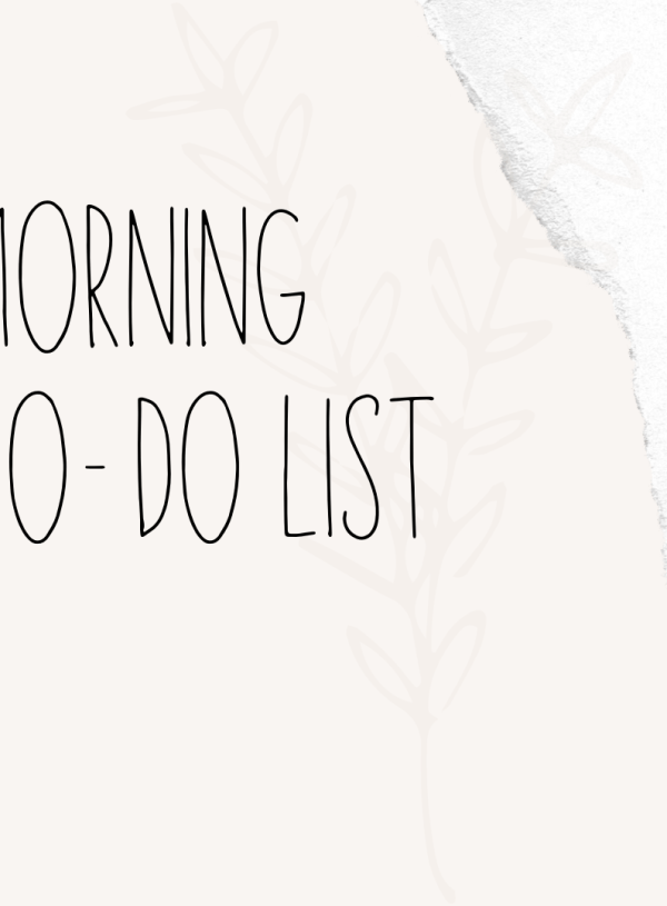Morning To-Do List – Free Printable Included