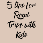 5 Things to do to Prepare For a Road trip With Kids