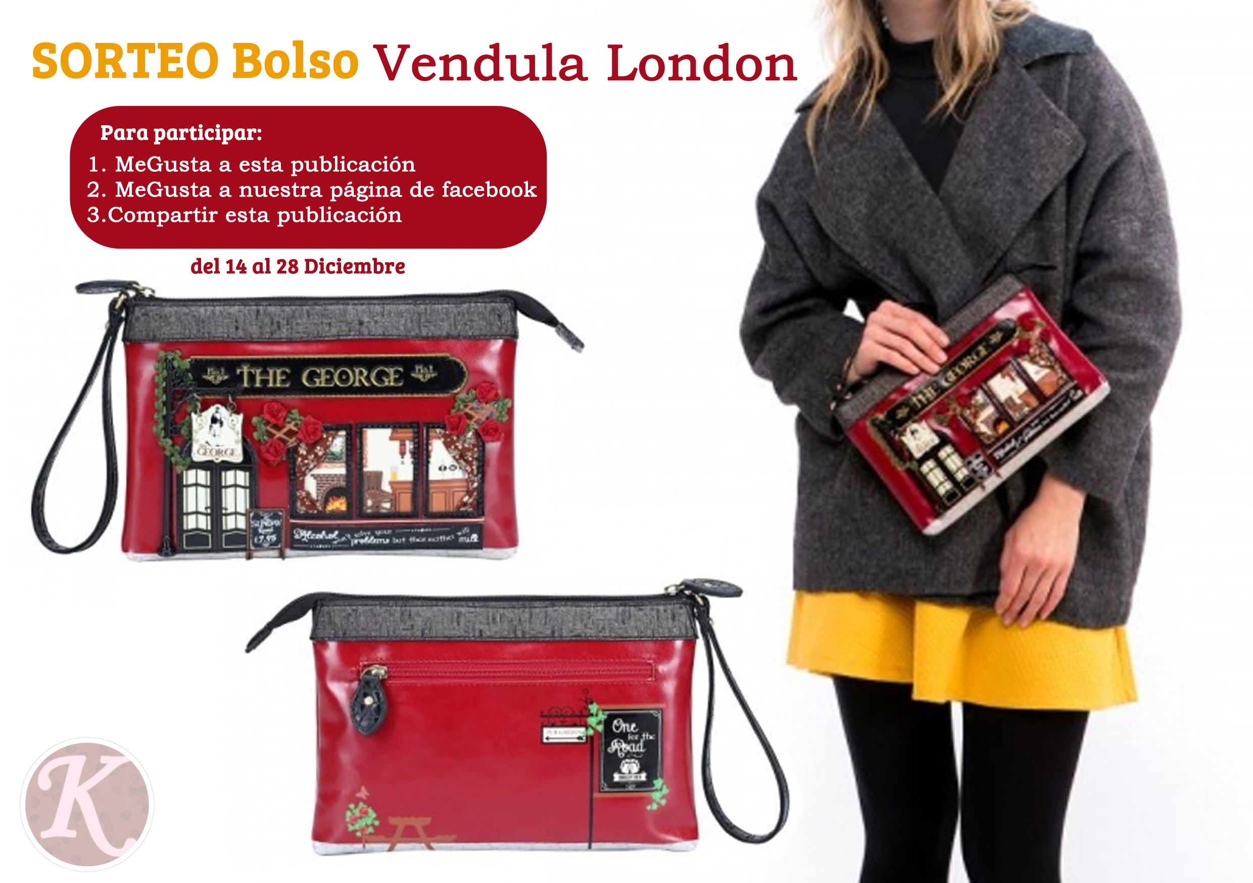 SORTEO Bolso Vendula London