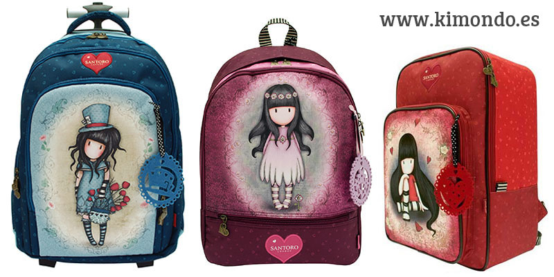 Mochilas Gorjuss 2016 – KimondoShop