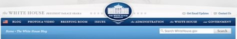 whitehouse blog action day
