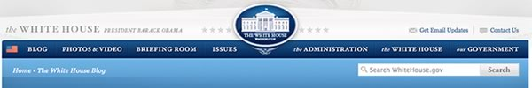 whitehouse blog action day