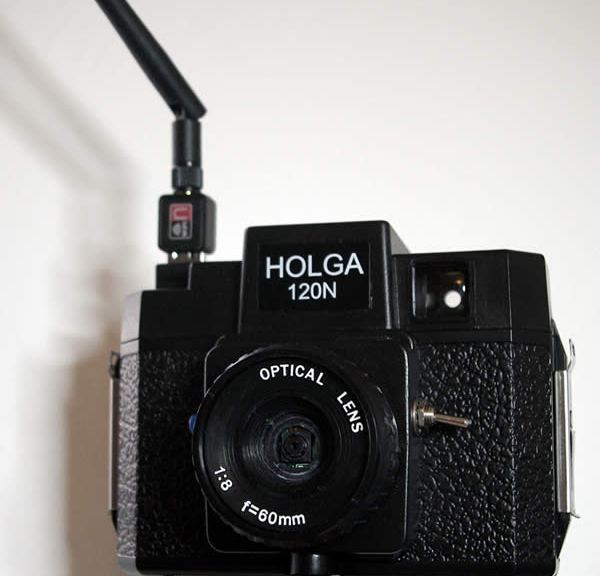 Pi Camera Holga Case