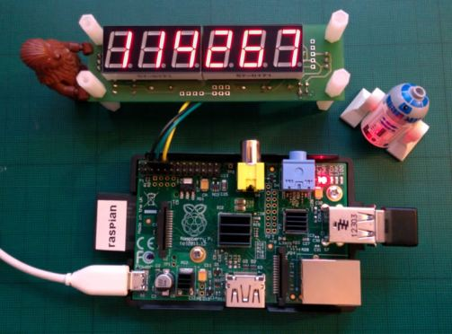 Build a Raspberry Pi powered LED web counter – Kimondo