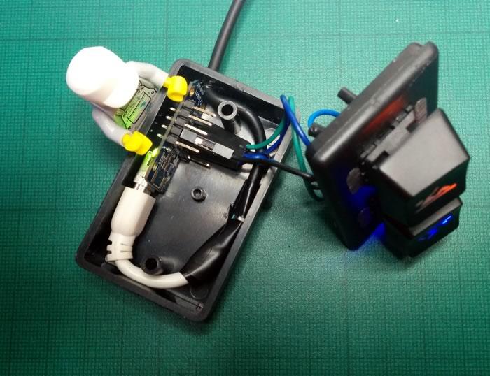 USB keyboard internal wiring