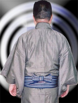 男性的腰带系法