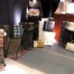 大島紬の売り場の写真