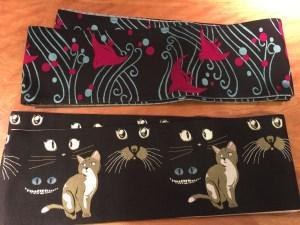半巾帯猫と鳥