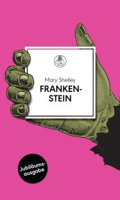 Frankenstein von Mary Shelley Cover