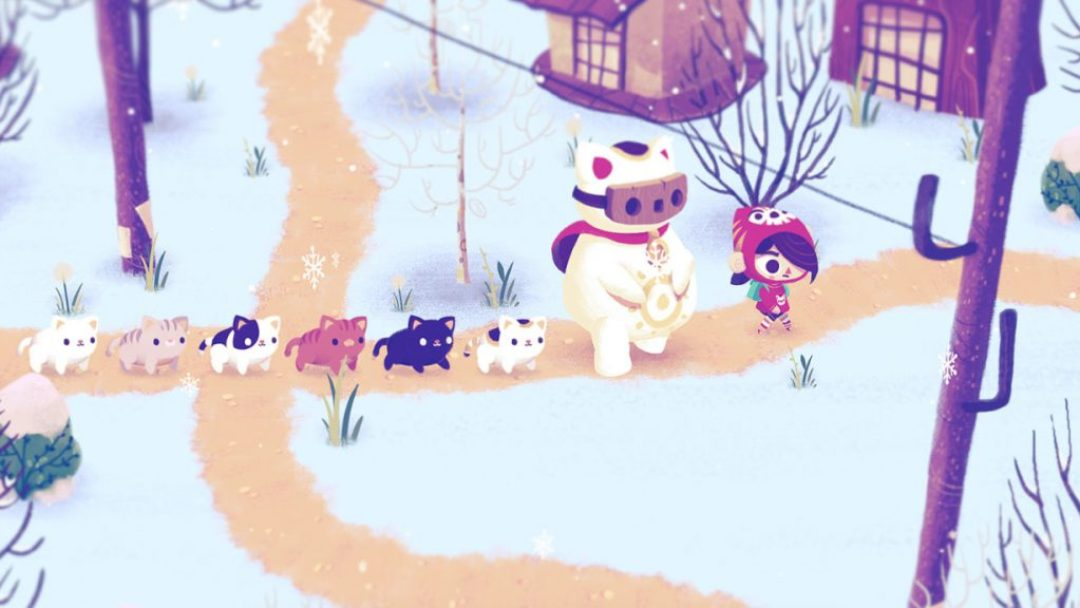 Meowza & Humble Bundle: Mineko's Night Market