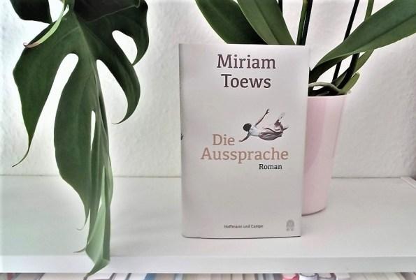 Miriam Toews, Die Aussprache