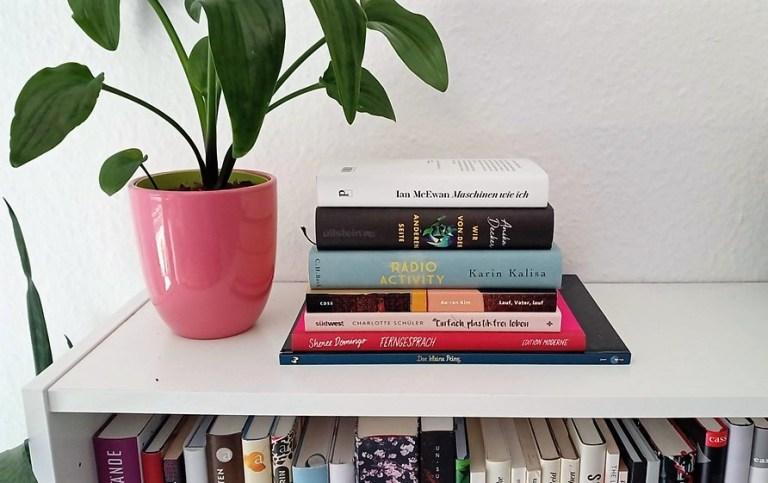 Lesen und Schwitzen: Lesemonat Juli
