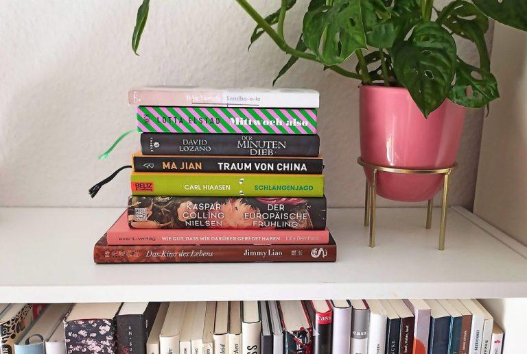 Der SUB wächst und wächst: Lesemonat August